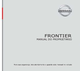 2016 Nissan Frontier Manual do proprietário (Português (in Portuguese))