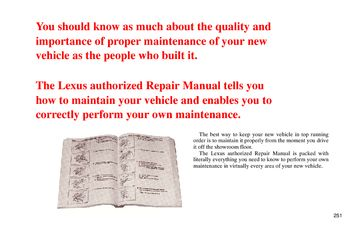 1994 Lexus LS400 Repair Manual Information (in English)