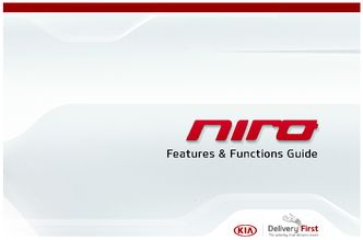 2018 KIA Niro Features & Functions Guide (in English)