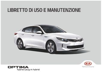 2018 KIA Optima Plug-in Hybrid Manuale del proprietario (Italiano (in Italian))