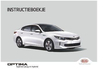 2018 KIA Optima Plug-in Hybrid Handleiding (Nederlands (in Dutch))