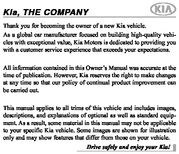 2020 KIA Sportage Owner's Manual (in English)